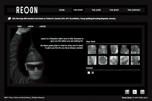 Recon Website