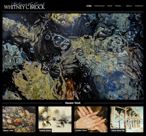 Whitney C Brock Homepage